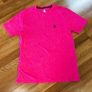 Volcom hot pink Men's T-shirt Med